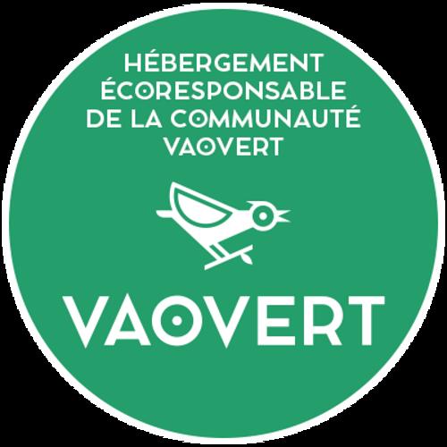Adhérent du 1er site français d'hébergeurs éco-responsable« Vaovert »