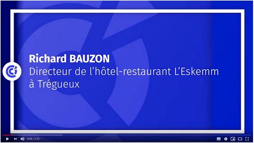 Interview pour la CCI des Côtes-d''Armor (22)