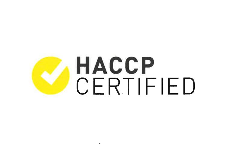 HACCP Certified 0