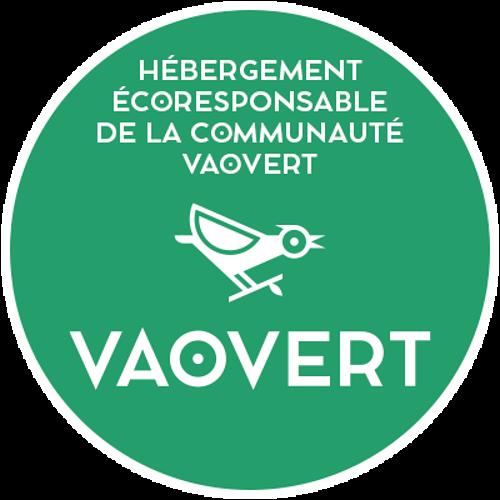 Adhérent du 1er site français d'hébergeurs éco-responsable« Vaovert » 0